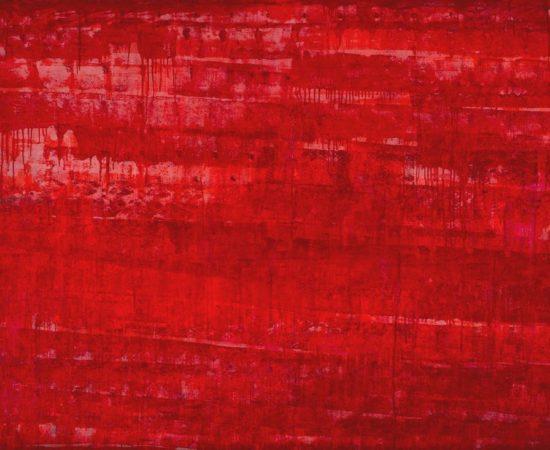 «Виртуальный красный» 160×200 холст/масло