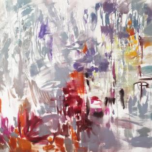 «Лирические мечты о лирической любви» 100×100, холст/масло The Tsukanov Art Collection
